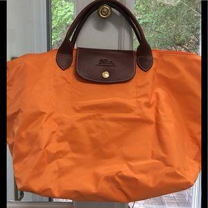 Vintage Longchamp Les Pilage sac pliant medium.